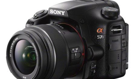 Sony α57, nueva cámara con tecnología de espejo translúcido (NdP)