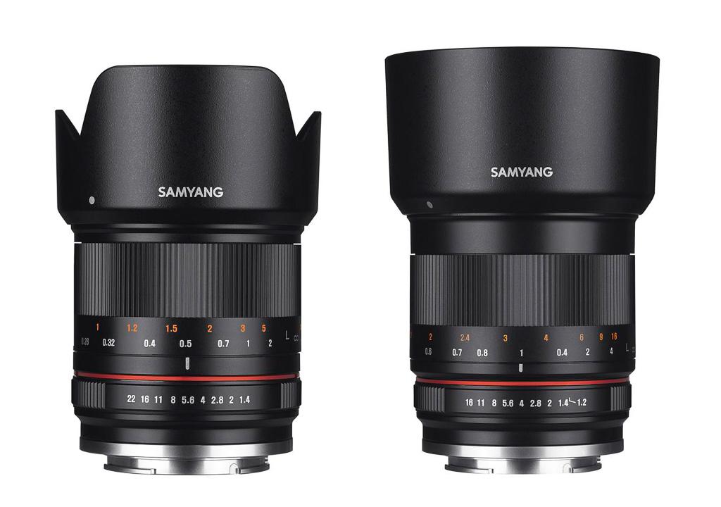 Nuevos objetivos Samyang 21mm y 50mm para cámaras CSC (foto y vídeo)
