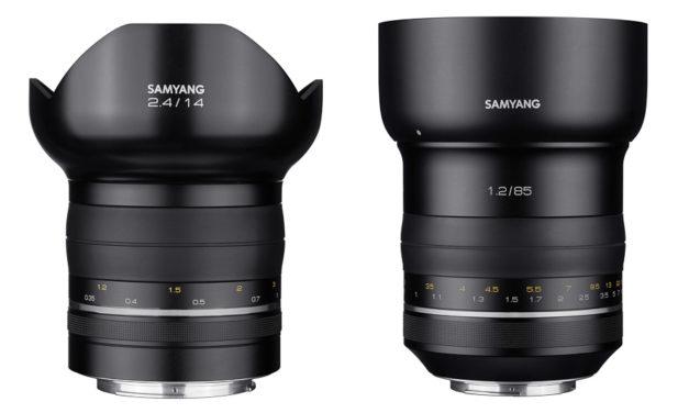 Nueva línea de objetivos Samyang Premium