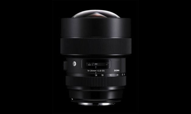 Nuevo ultra gran angular Sigma 14-24mm ƒ/2,8 DG HSM   Art