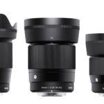 Sigma lanza 3 objetivos con montura EF-M de Canon