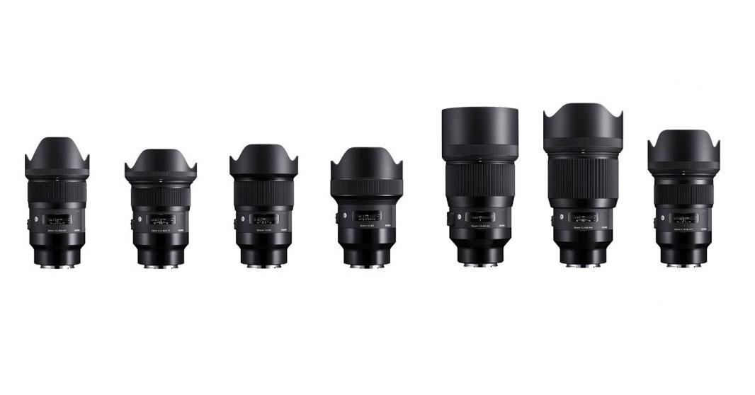 Sigma presenta 7 objetivos Prime Art para Sony E junto a 2 nuevos objetivos Art
