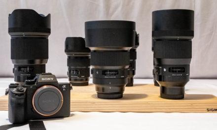 Probando los objetivos Sigma Art para Sony FE
