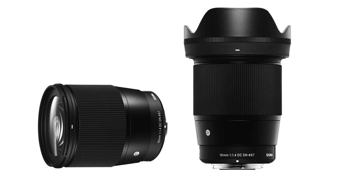 Sigma 16mm ƒ/1,4 DC DN   Contemporary, nuevo objetivo para Sony-E y Micro 4/3