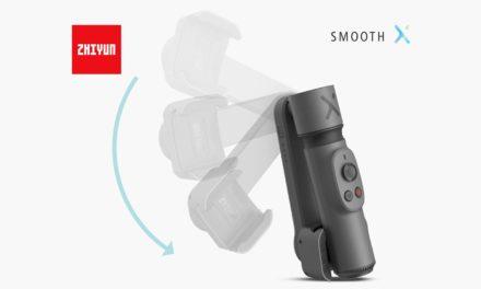 Zhiyun Smooth X, nuevo gimbal plegable para smartphones
