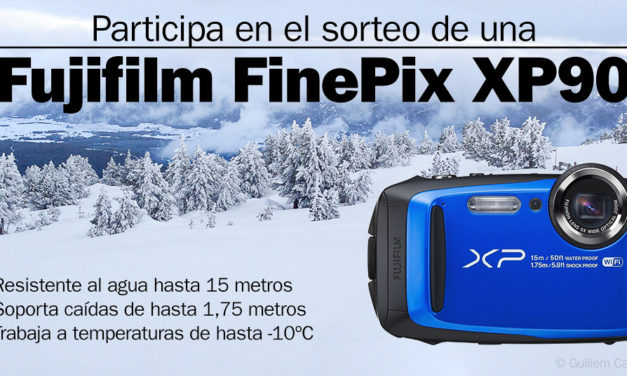 Sorteamos una Fujifilm FinePix XP90, ideal para tus fotos de invierno