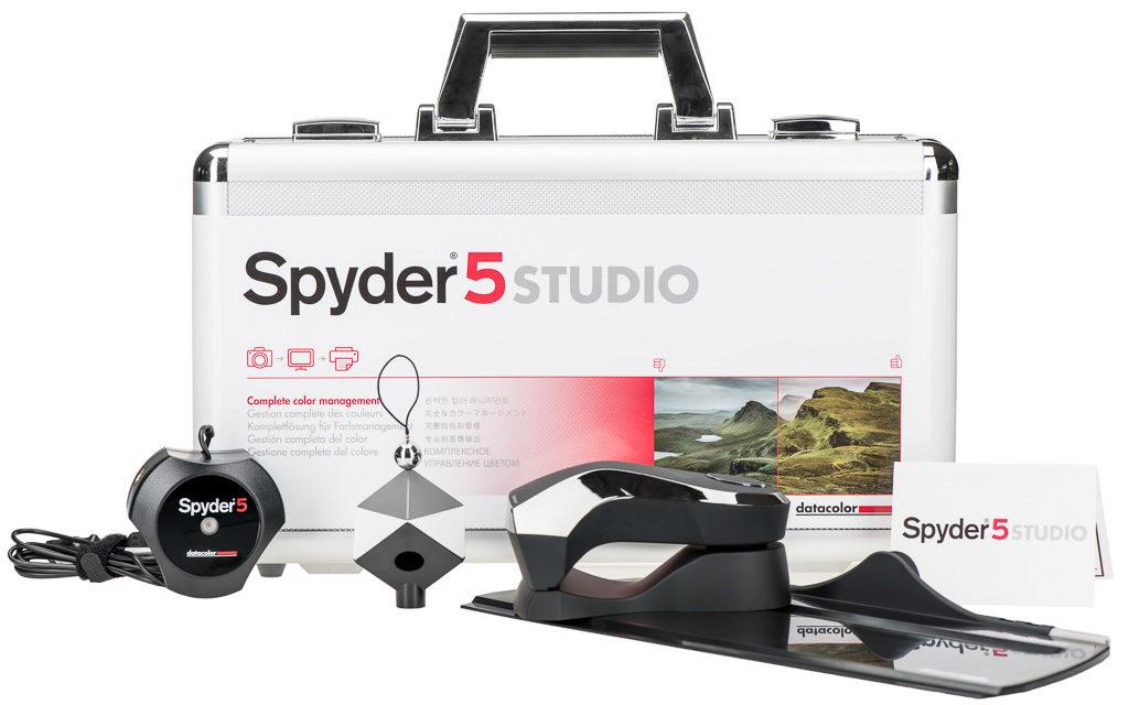 Datacolor Spyder5Studio, el kit completo de gestión del color