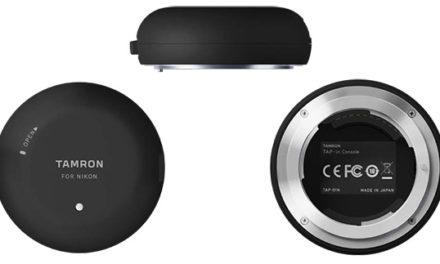 Tamron TAP-in Console, un dispositivo para actualizar y modificar ajustes de un objetivo