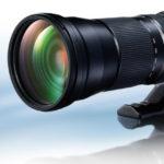 Tamron anuncia el desarrollo del nuevo objetivo ultra tele zoom 150-600mm