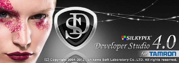 """""""SILKYPIX Developer Studio 4.0 for TAMRON"""", software de edición RAW"""