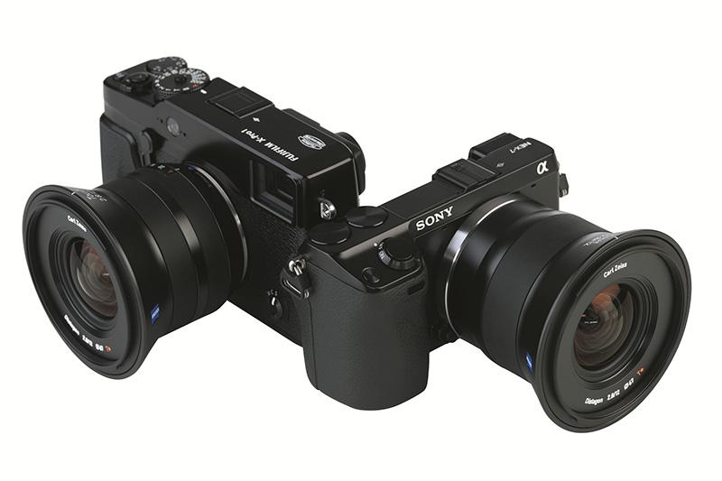 Nuevos objetivos Zeiss Touit, para Sony NEX y Fujifilm X