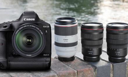 Canon EOS-1D X Mark III (en desarrollo), dos nuevos objetivos RF y nuevos accesorios para vloggers