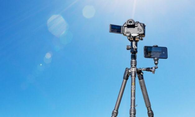 Nueva colección de trípodes de viaje Vanguard Veo 3T