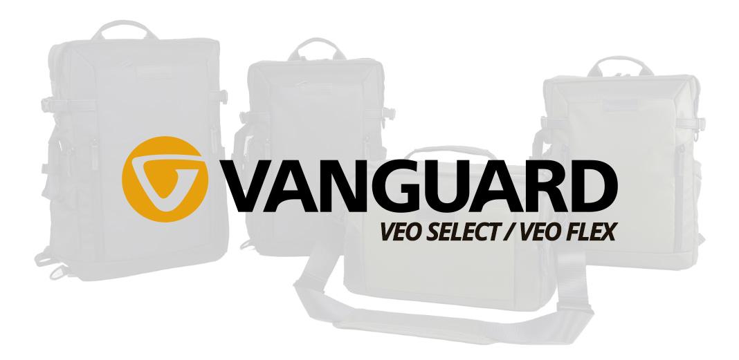 Vanguard VEO SELECT y VEO FLEX, nuevas mochilas y bolsas de hombro