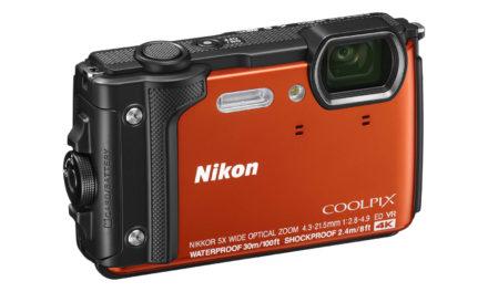 Nikon Coolpix W300, nueva cámara acuática y resistente
