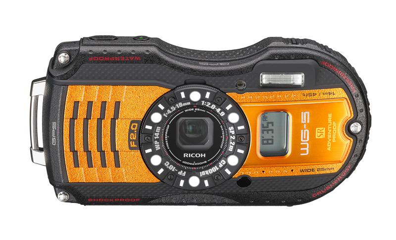 Nueva cámara acuática y resistente Ricoh WG-5 GPS