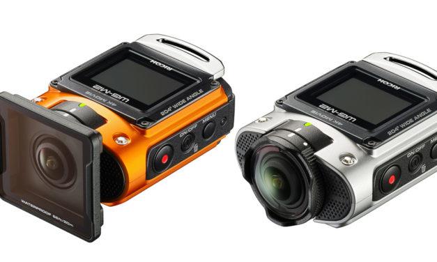 Ricoh WG-M2, cámara de acción gran angular de 204º y vídeo 4K