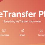 Envía tus fotografías y archivos pesados con WeTransfer