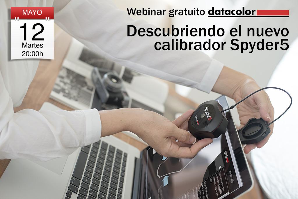 Webinar gratuito: Descubriendo el nuevo calibrador Spyder5