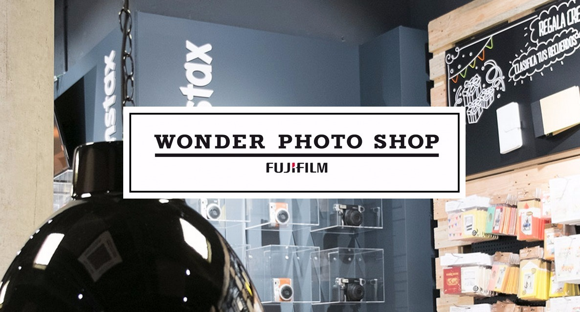 Wonder Photo Shop en Barcelona. La tienda conceptual de Fujifilm.