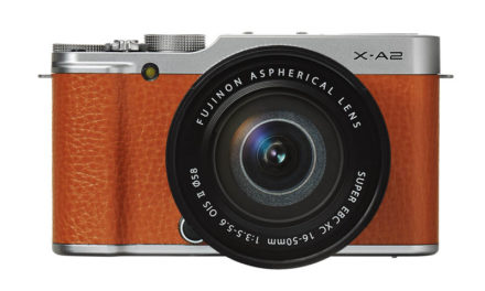 Nueva Fuji X-A2, con pantalla inclinable de 175°