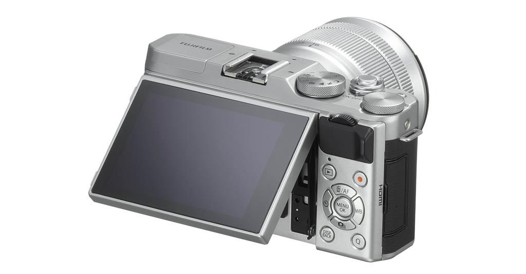 X-A3_Silver_16-50mm_backleft_tilt45