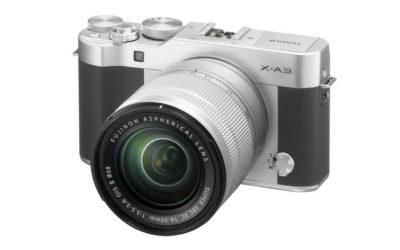 Fujifilm X-A3, la pequeña de la serie X con óptica intercambiable se renueva