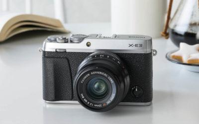 Fujifilm X-E3, nueva y mejorada, con 24,3 Mp, 4K y Bluetooth