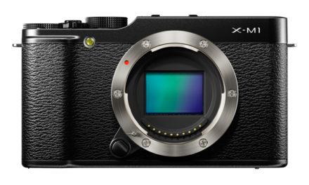 Nueva Fujifilm X-M1, compacta, ligera y mismo sensor que la X-Pro1