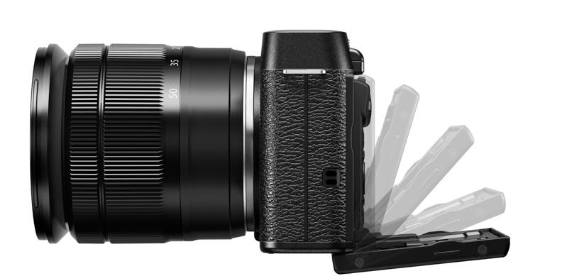 X-M1_Black_Left_16-50mm_Tilt_LCD_Tilting-4