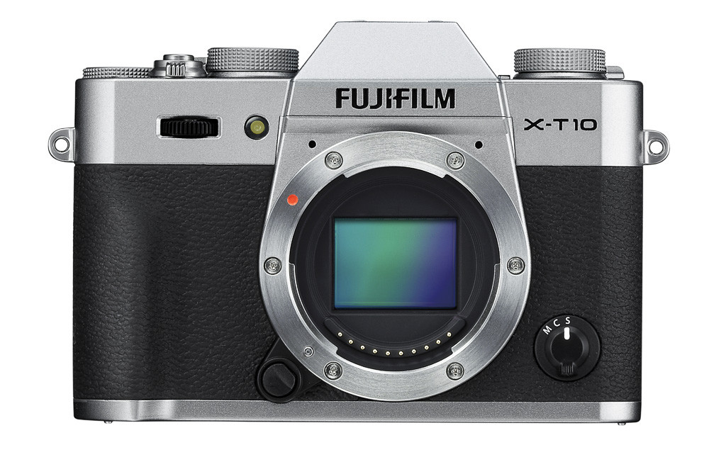 X-T10_front silver
