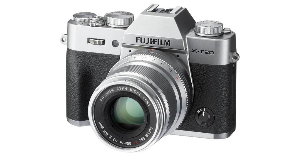 Fujifilm X-T20 con 24,3 megapíxeles, AF de alta velocidad y vídeo 4K
