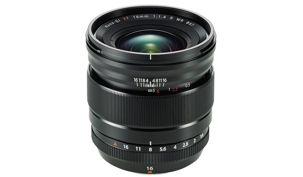 Nuevo objetivo para la serie X de Fujifilm: FUJINON XF16mmf/1.4 R WR