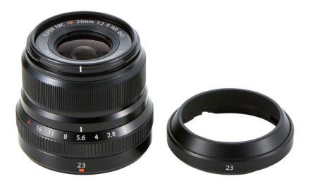 Nuevo objetivo para serie X de Fujifilm: 23mm F2 R WR