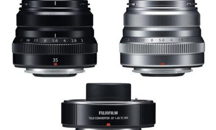 Fujifilm presenta el nuevo objetivo XF 35mmf/2,0 y el nuevo teleconvertidor XF 1,4X