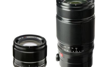 Nuevos objetivos Fujifilm para la serie X
