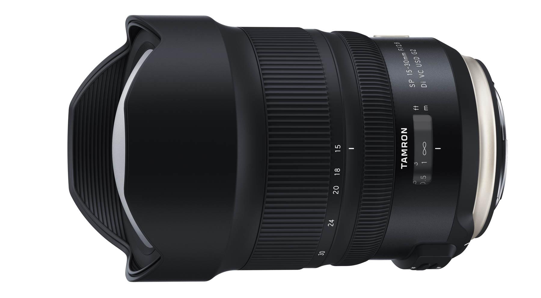 Nueva versión del Tamron 15-30mm f/2,8 Di VC USD