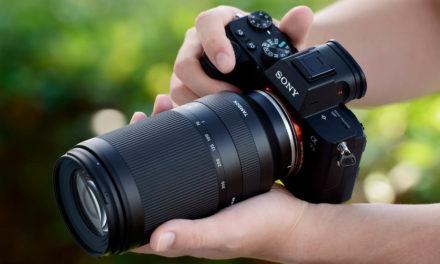 Tamron 70-300mm ƒ/4,5-6,3, el telezoom más pequeño del mundo para Sony E-mount full-frame