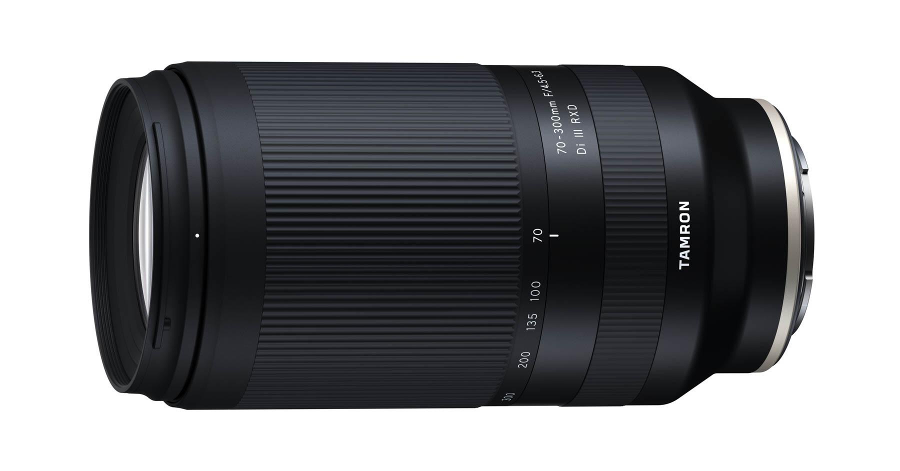 "Tamron 70-300mm ƒ/4,5-6,3 Di III RXD para Sony ""Full Frame"", en desarrollo"