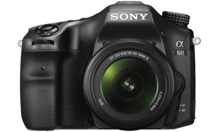 Nueva Sony A68 con 4D Focus