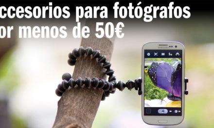 Accesorios para fotógrafos por menos de 50€