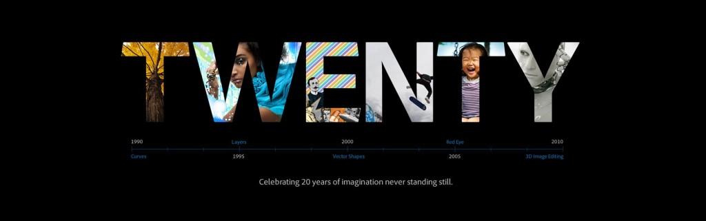 Adobe Photoshop cumple 20 años