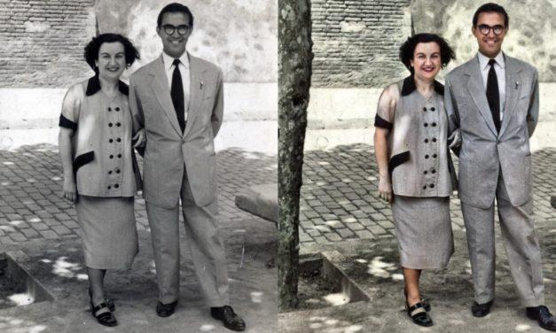 Convertir una fotografía en blanco y negro a color