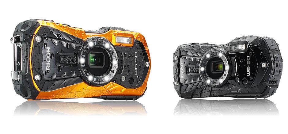 Ricoh WG-50, nueva cámara acuática y resistente