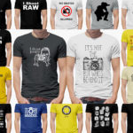 Camisetas para fotógrafos