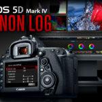 Canon presenta un firmware de pago con C Log para la EOS 5D Mark IV