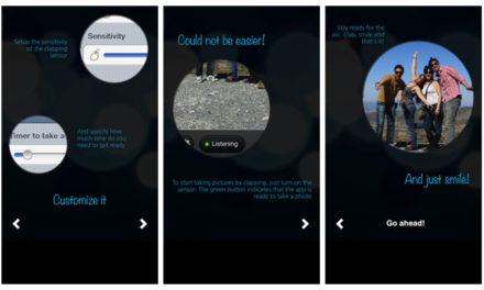 Fotos a sonido de palmada con Clapmera para iOs