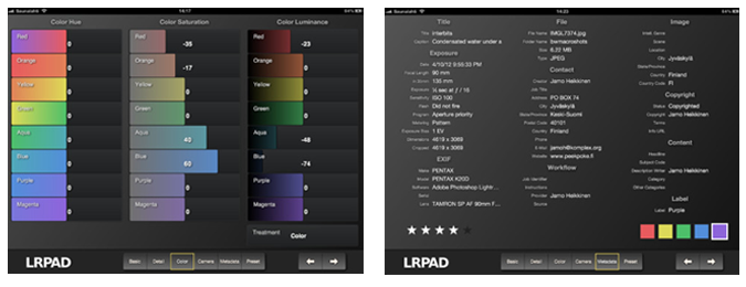 capturas de pantalla LRPAD