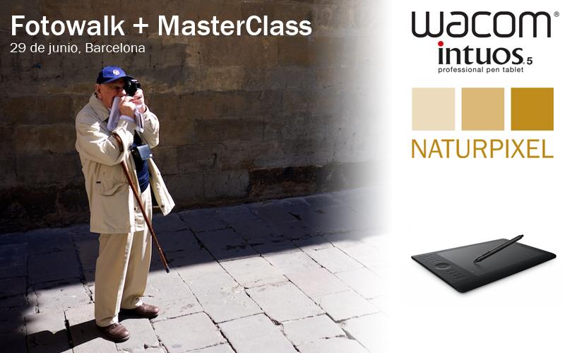 Concurso: un Fotowalk y una MasterClass con Wacom y Naturpixel