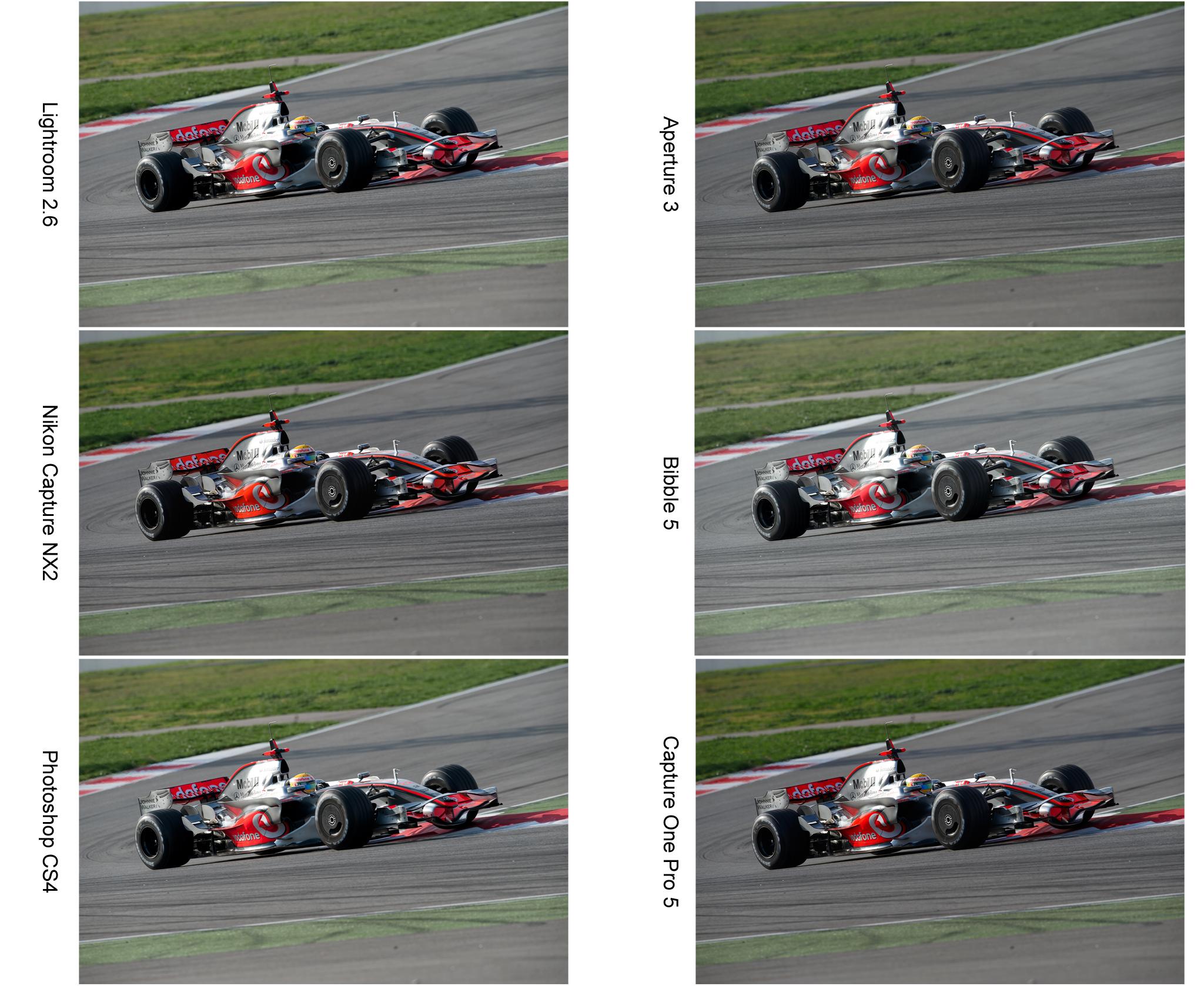 Comparativa softwares de edición RAW. (I – Nikon)